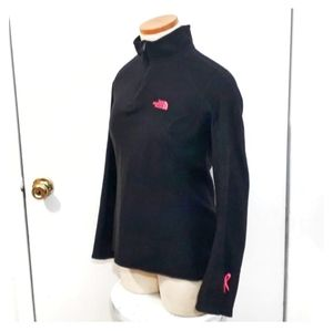 The North Face   Black & Pink Pullover